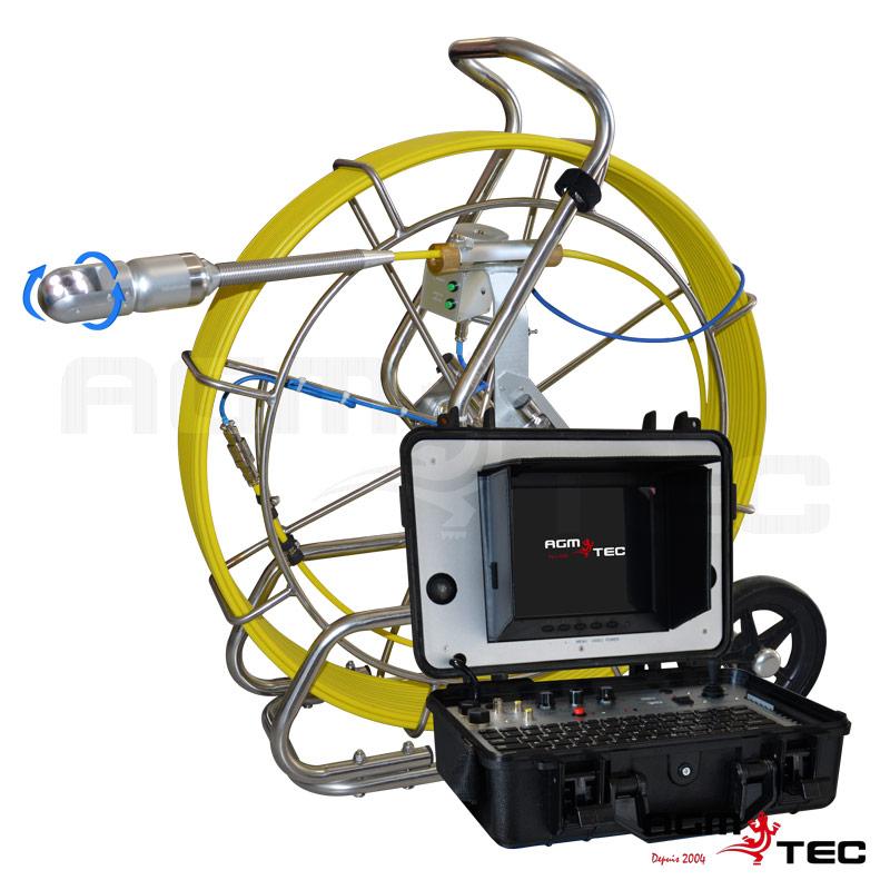 Caméra de canalisation rotative - Tubicam® XL 360HD
