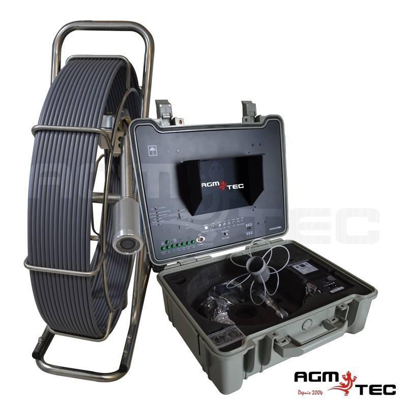Caméra d'inspection de canalisation - Fil d'eau