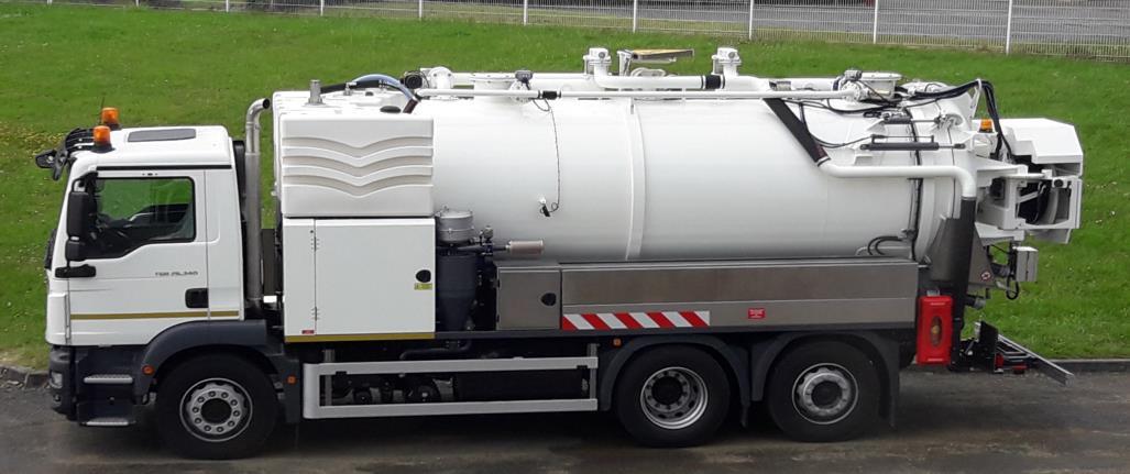 location camion hydrocureur haute pression