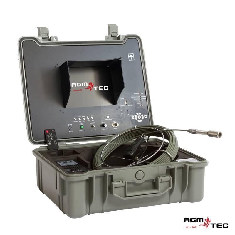 caméra inspection professionnelle pour inspection des canalisations